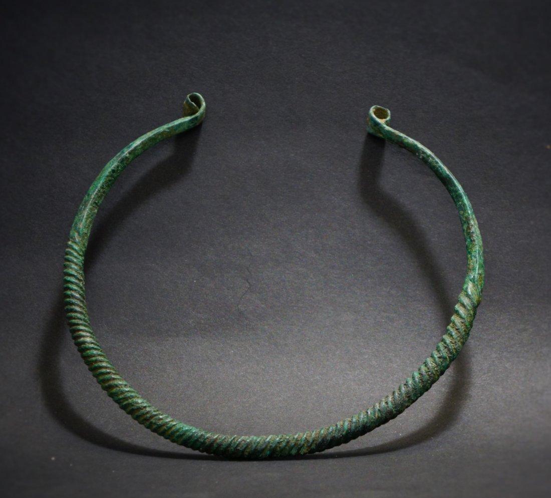 Hellenistic Bronze Torque