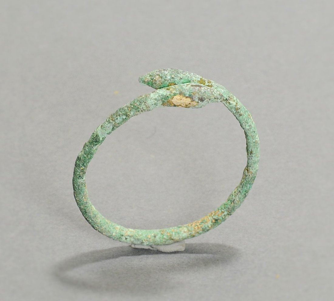 Roman Bronze Snake Bracelet