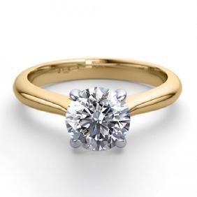 14K 2Tone Gold Jewelry 1.24 ctw Natural Diamond