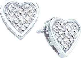 0.5 CTW Princess Natural Diamond Unique Heart Love