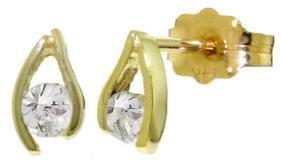 Genuine 0.20 ctw Diamond Anniversary Earrings Jewelry