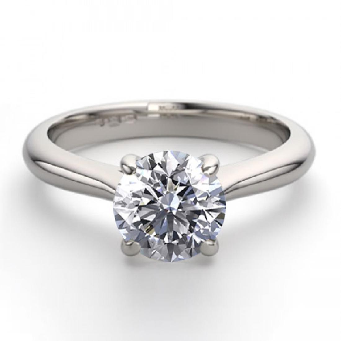 14K White Gold Jewelry 0.91 ctw Natural Diamond