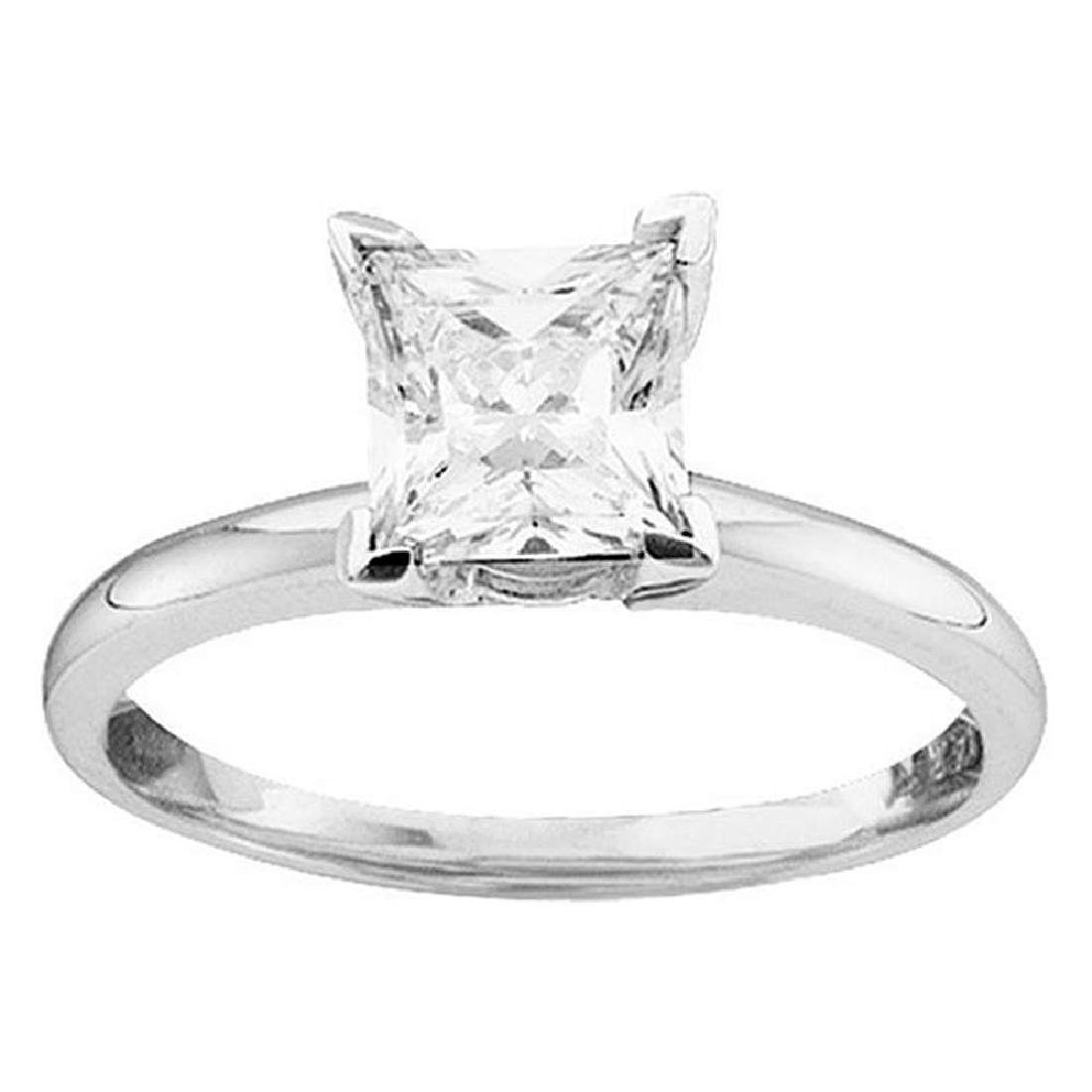 0.25 CTW Princess Diamond Solitaire Bridal Engagement