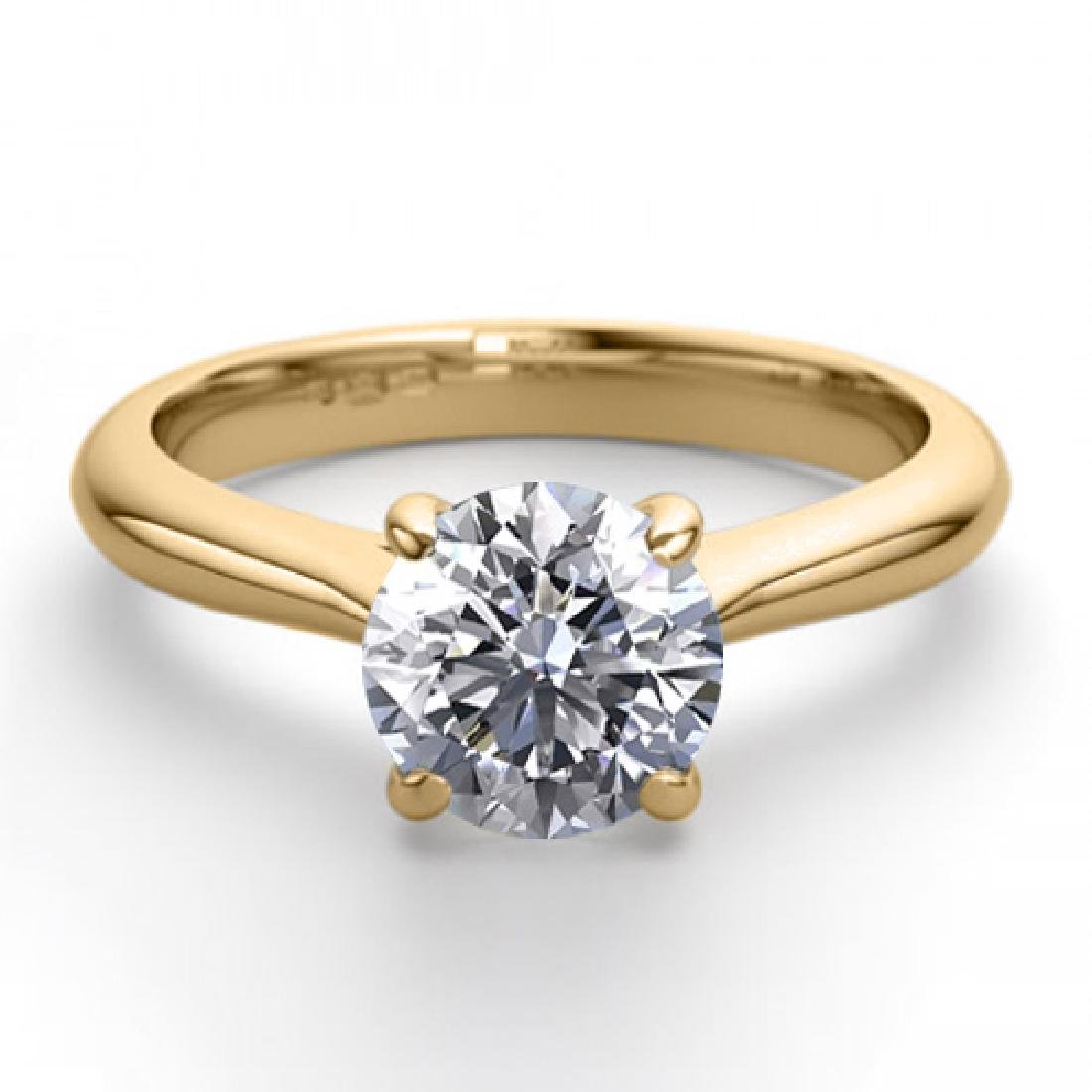 14K Yellow Gold Jewelry 1.36 ctw Natural Diamond