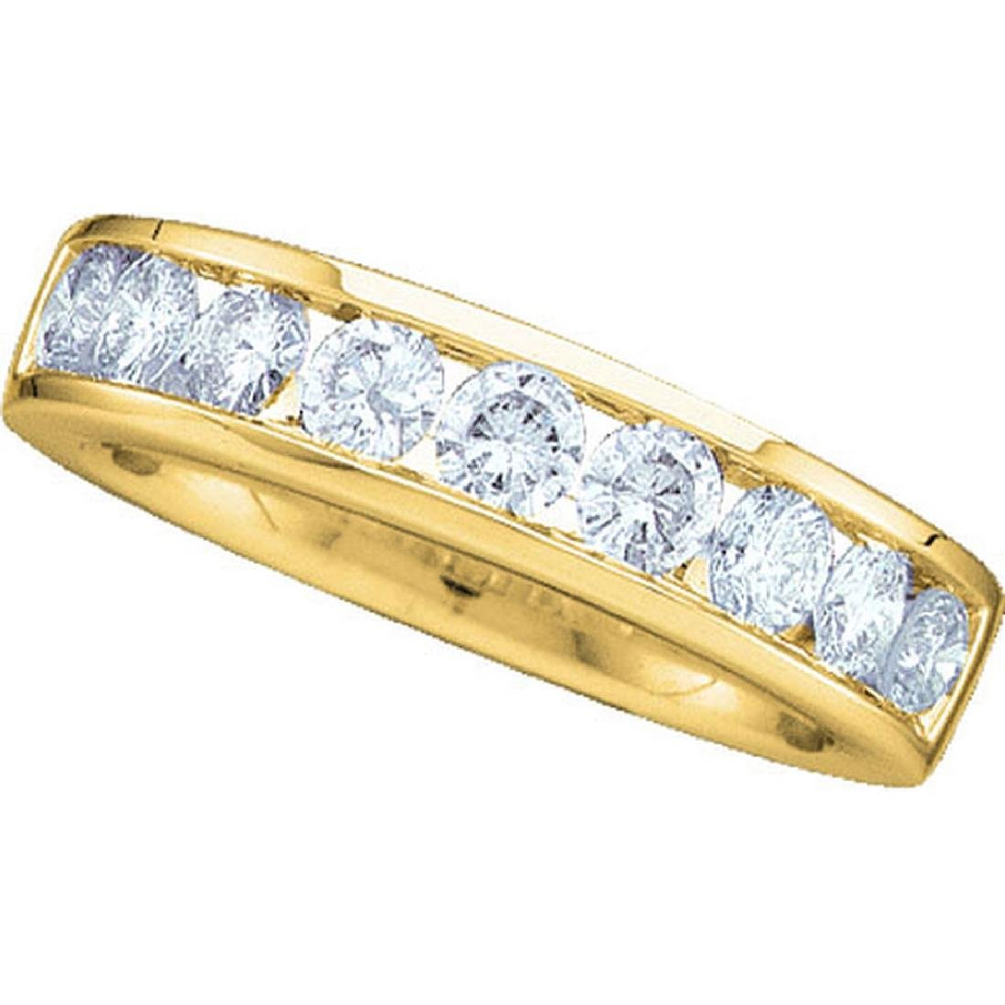 0.50 CTW Diamond Wedding Ring 14KT Yellow Gold -
