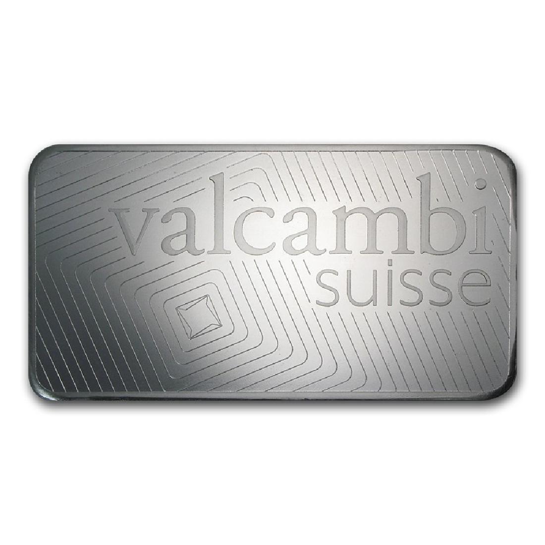 Genuine 1 kilo 0.999 Fine Silver Bar - Valcambi w/