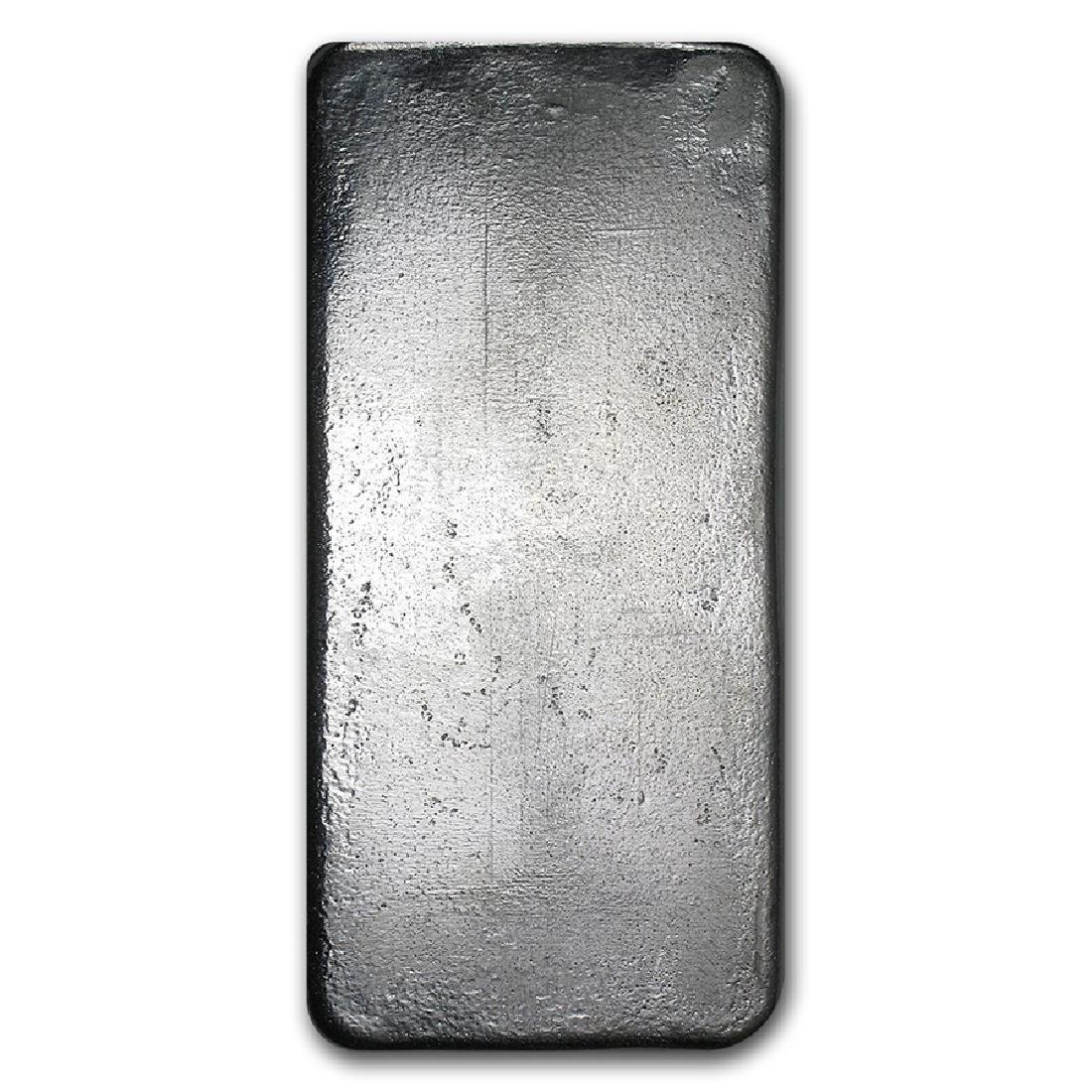 Genuine 1 kilo 0.999 Fine Silver Bar - Republic Metals - 2