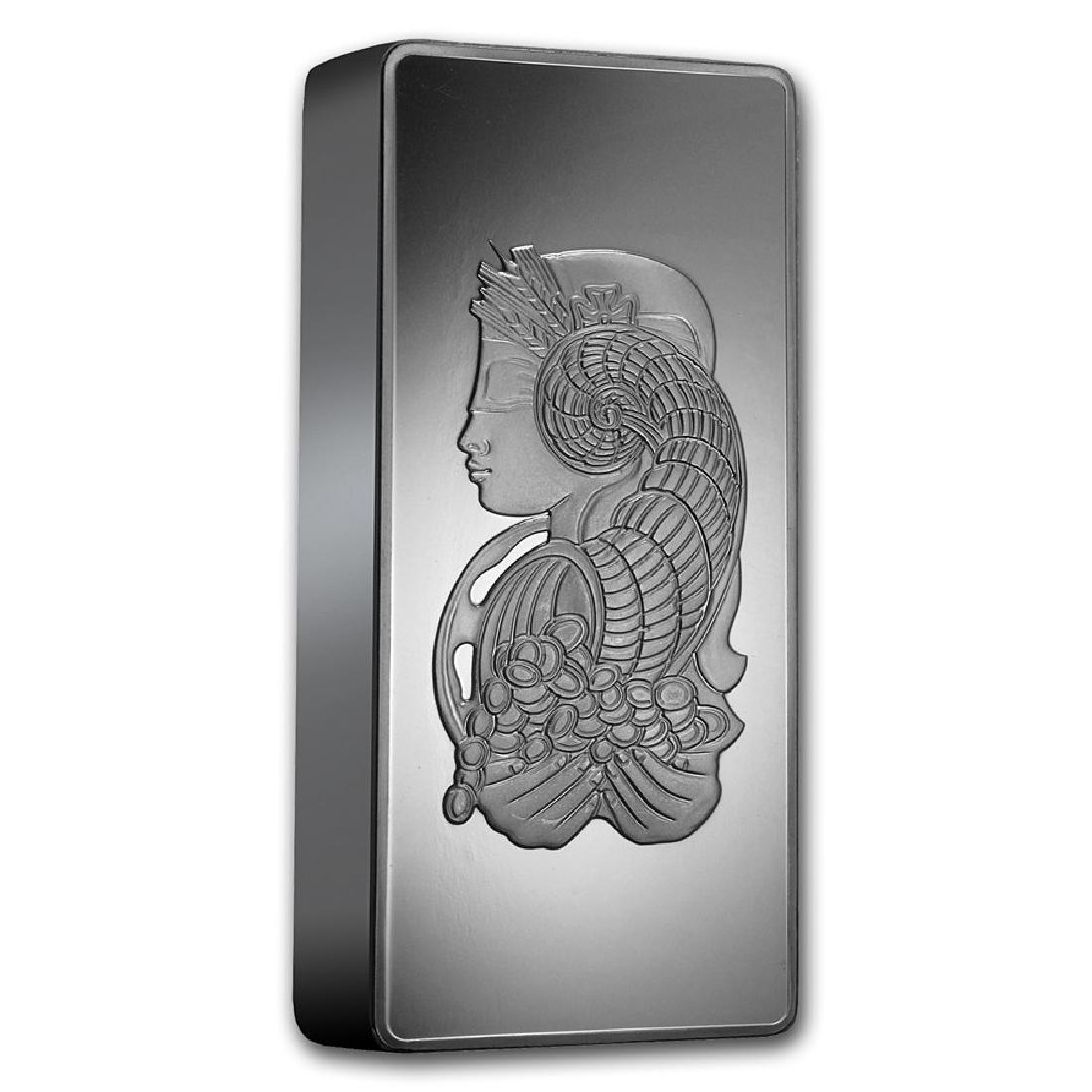 Genuine 1 kilo 0.999 Fine Silver Bar - PAMP Suisse