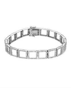 292 CTW Diamond Bracelet 18K White Gold REF324R7K