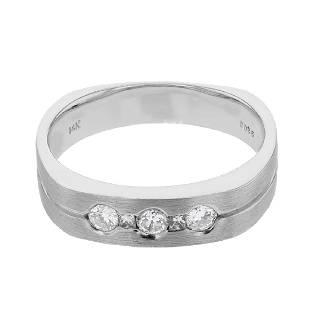035 CTW Diamond Ring 14K White Gold REF74N3Y