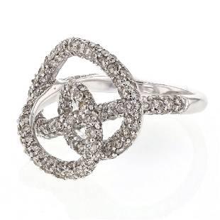 268 CTW Diamond Ring 14K White Gold REF131N4Y