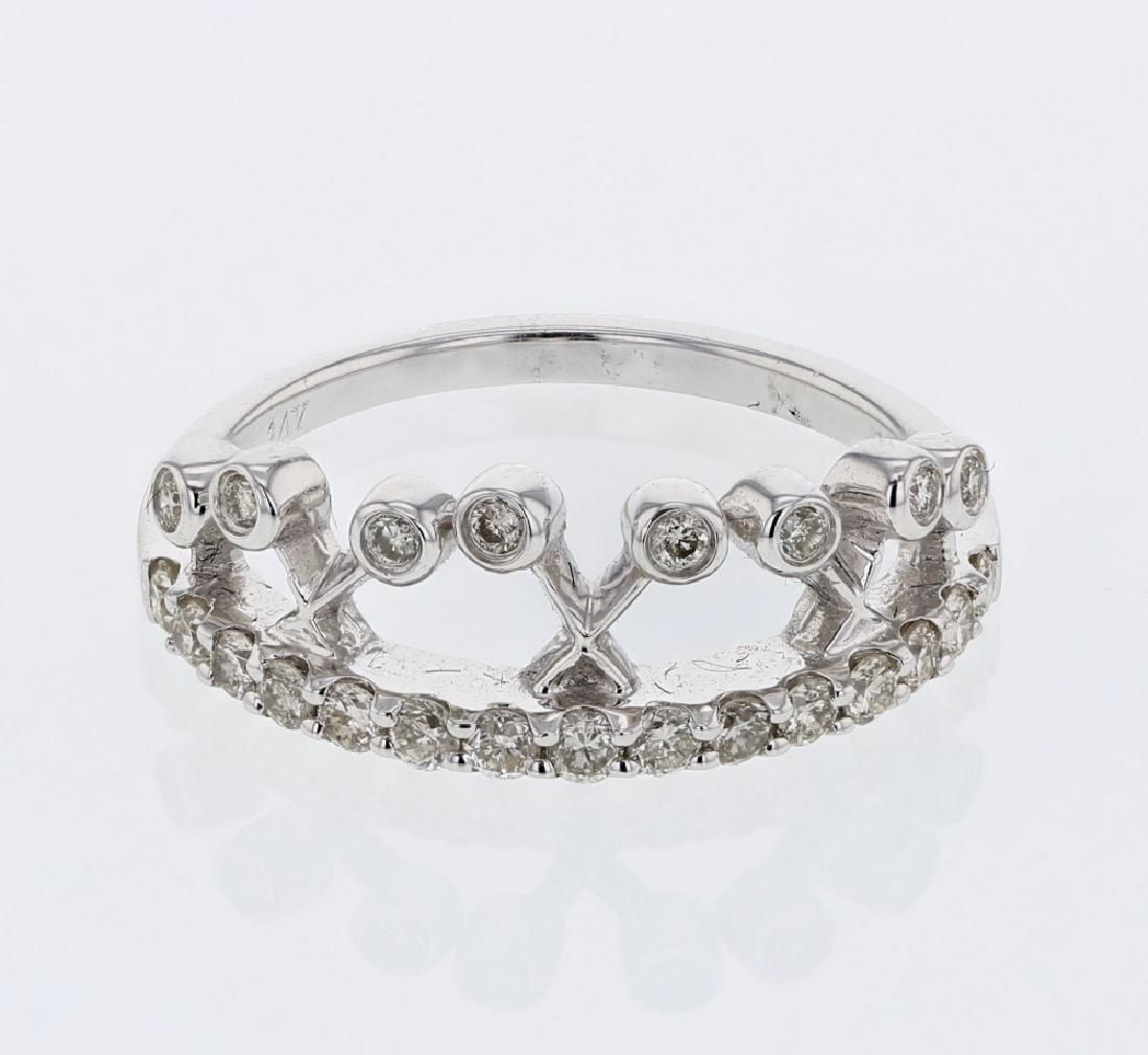 048 CTW Diamond Ring 14K White Gold REF42H5M