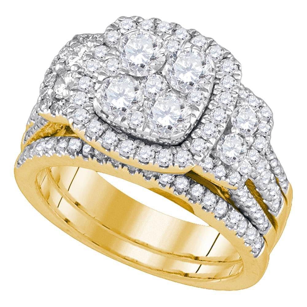 GD 0.25CTW DIAMOND CLUSTER MENS BAND