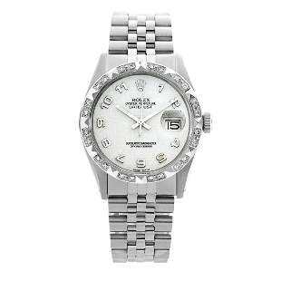 Rolex Pre-owned 36mm Mens Silver Jubilee Stainless