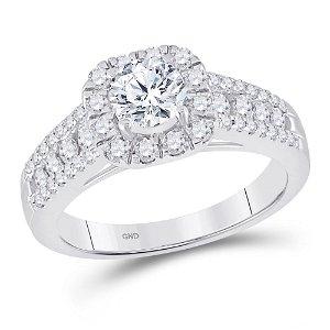 Diamond Solitaire Bridal Wedding Engagement Ring 1-1/4