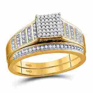 Diamond Rectangle Cluster Bridal Wedding Engagement