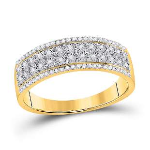 Round Diamond Anniversary Band Ring 1/6 Cttw 10KT