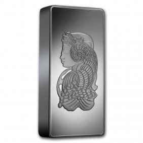 One Pc. 1 Kilo .999 Fine Silver Bar - Pamp Suisse -