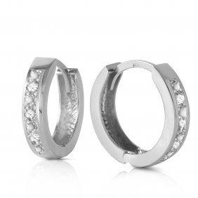Genuine 0.04 Ctw Diamond Anniversary Earrings Jewelry