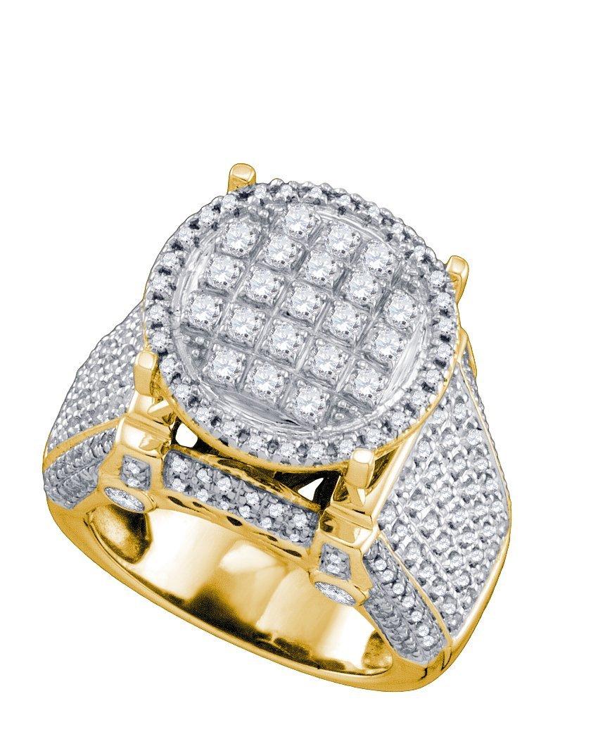 1.75 CTW Diamond Ladies Ring 10KT Yellow Gold -