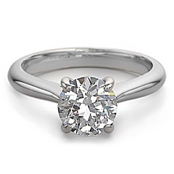 18K White Gold Jewelry 0.80 ctw Natural Diamond