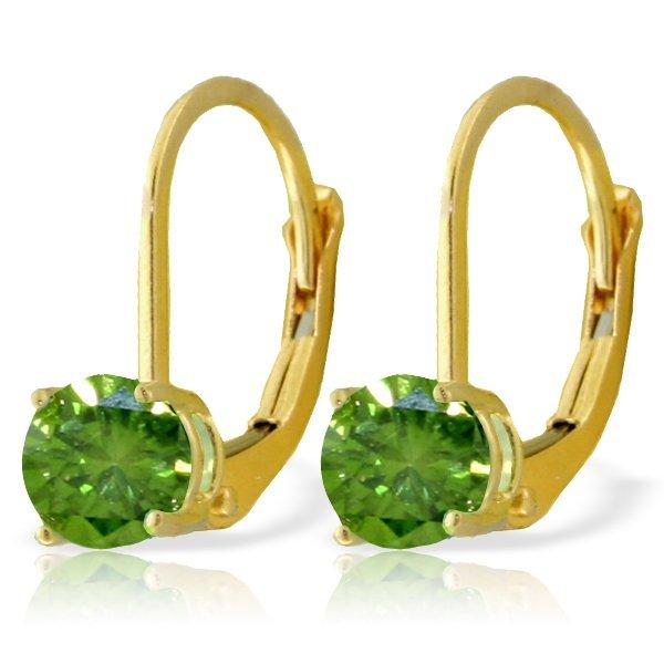 Genuine 1.0 ctw Diamond Anniversary Earrings Jewelry