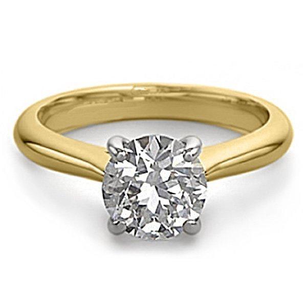 14K 2Tone Gold Jewelry 1.50 ctw Natural Diamond