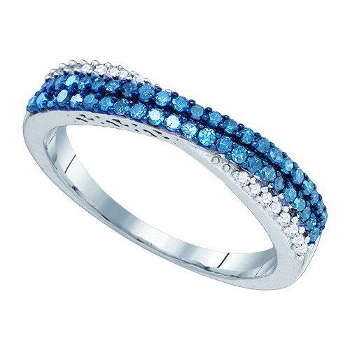 0.35CT Diamond Anniversary 10KT Ring White Gold