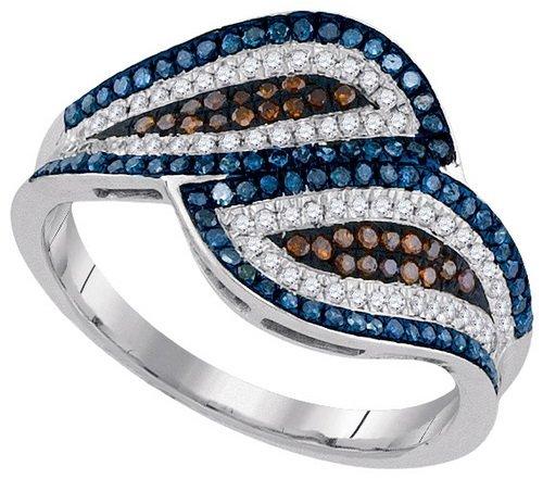 0.50CT Diamond Micro-Pave 10KT Ring White Gold