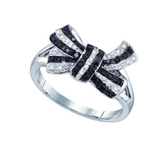 0.20CT Diamond Anniversary 10KT Ring White Gold