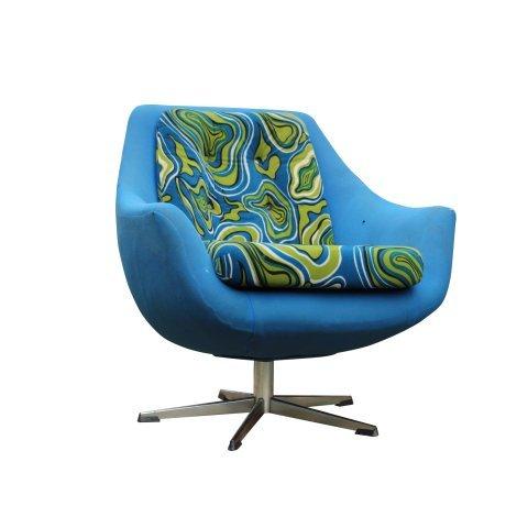 Mid Century Singer Swivel Chair
