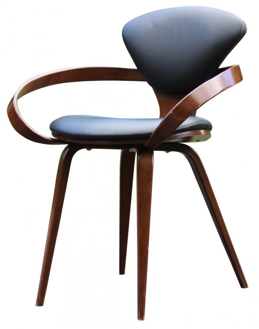 norman cherner pretzel chair midcentury modern