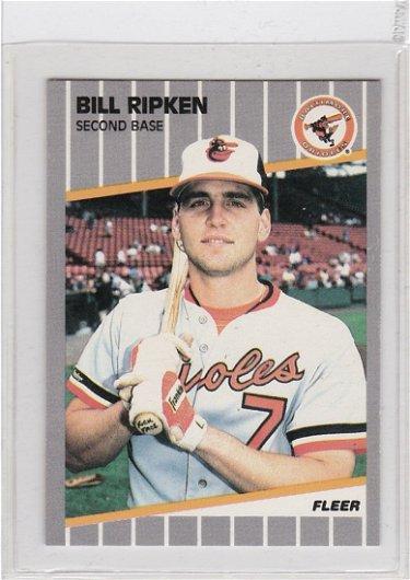 Rare Bill Ripken Fuck Face Variation Error Card