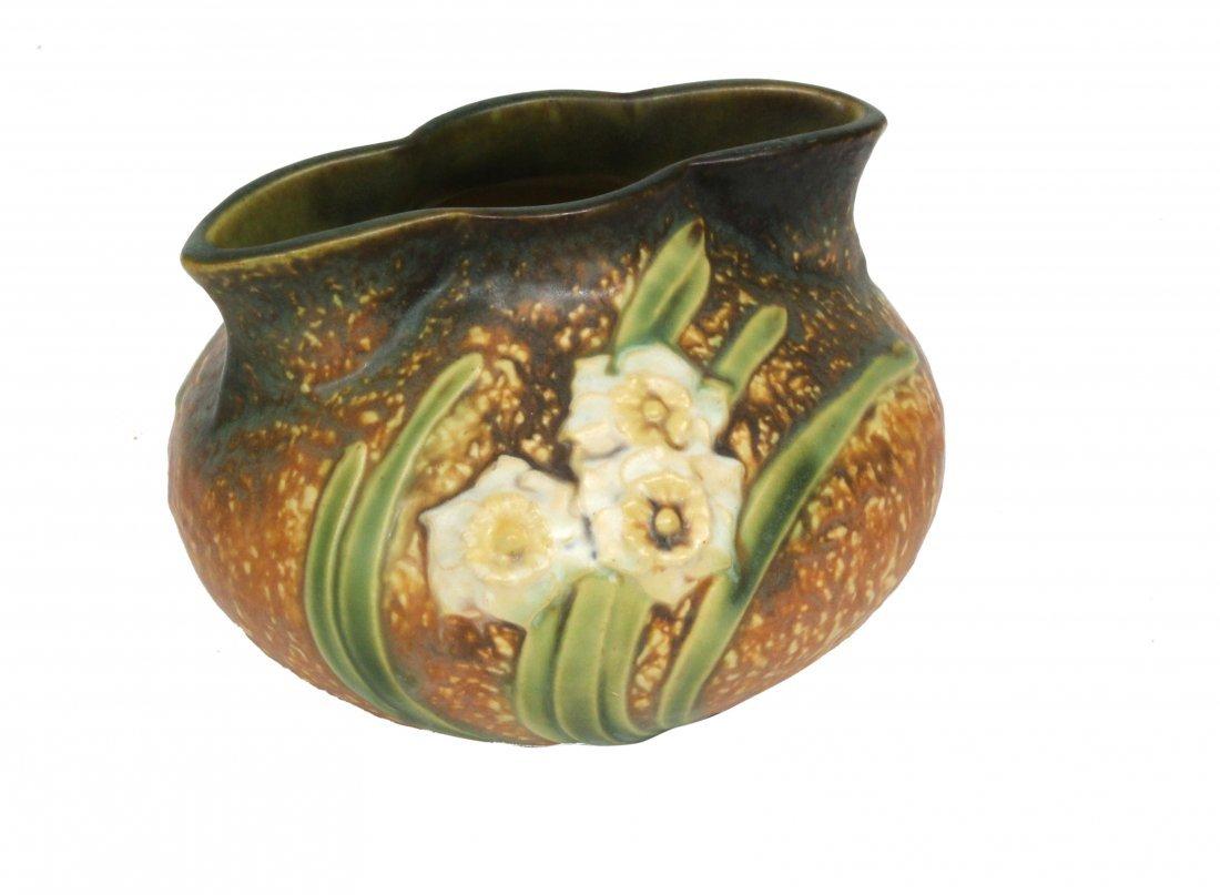 Roseville Art Pottery Vase Unusual Shape