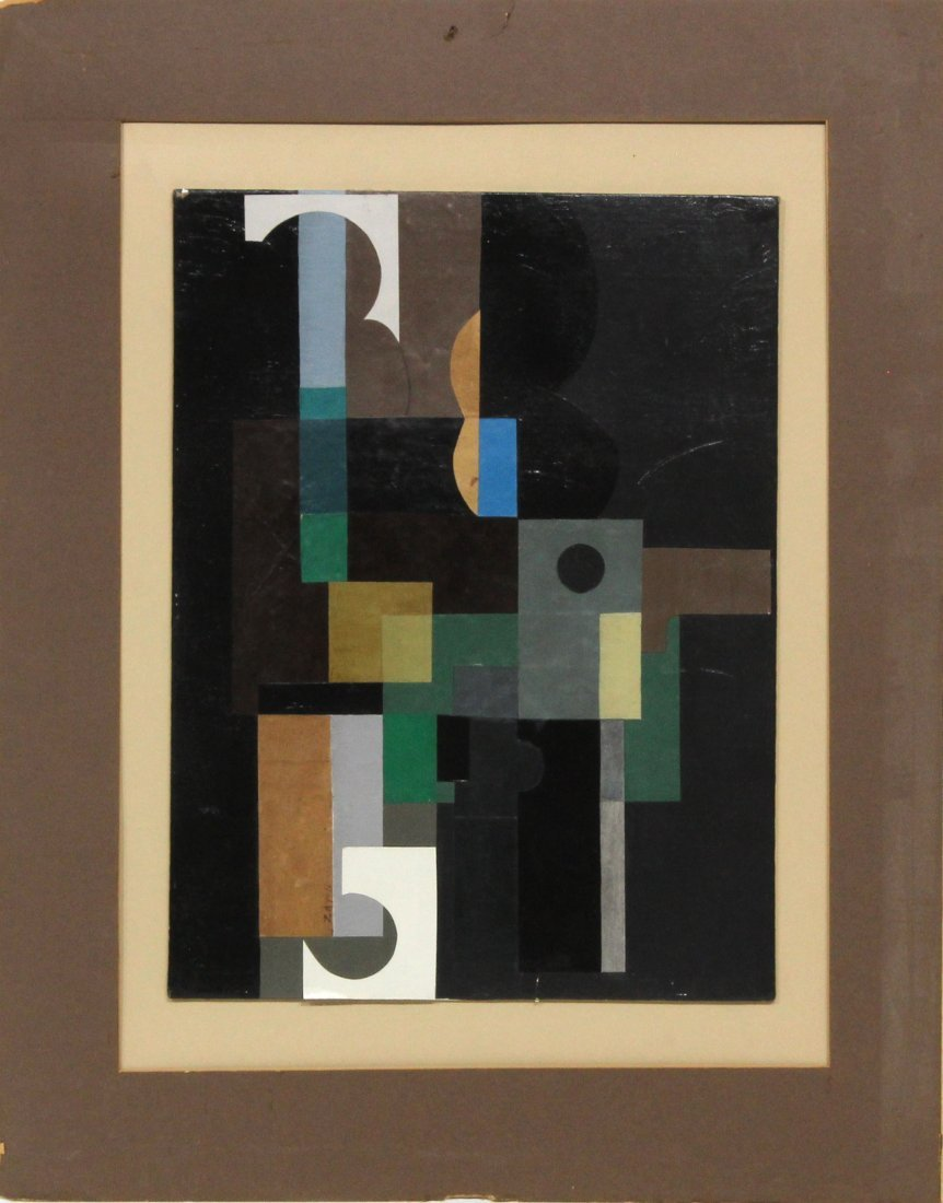 Seymour Zayon Mixed Media Graphic Design Painting