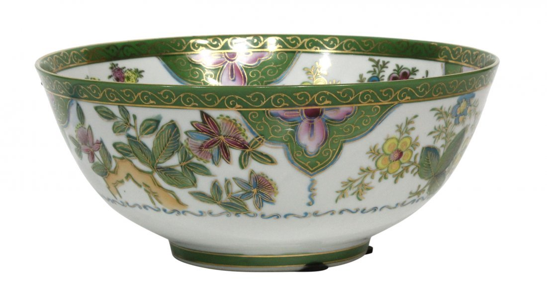 Fine Porcelain Bowl Floral Design Mark Unknown To Me