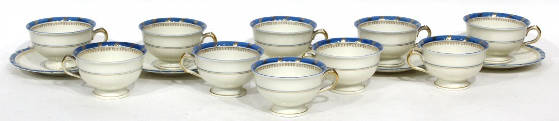 Royal Ivory KPM (Krister Porzellan-Manufaktur) Tea cups