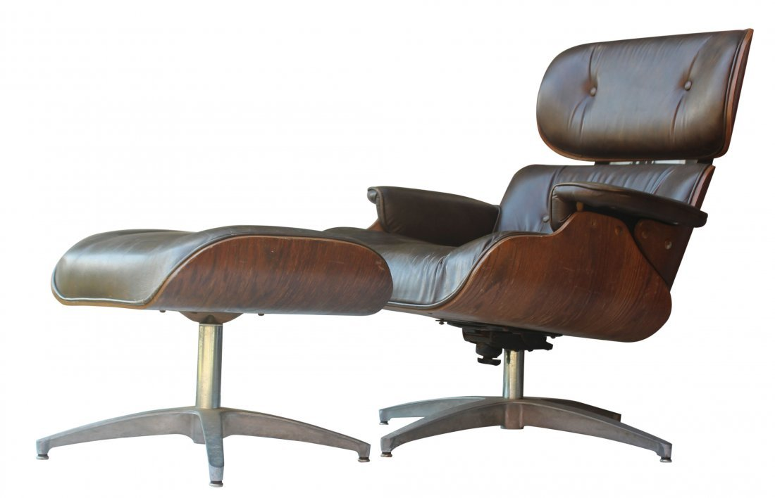Elegant Eames By Herman Miller Style Lounge Chair