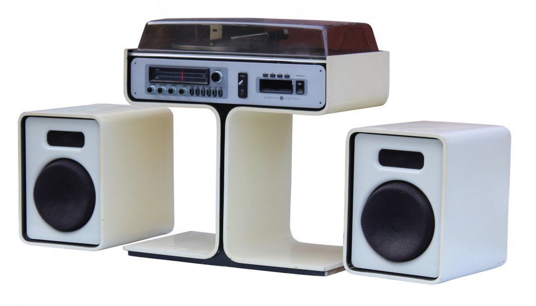 SPACE AGE - ATOMIC - General Electric STEREO SYSTEM