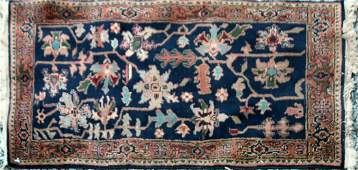 Contemporary Wool Oriental Rug Serapi Pattern