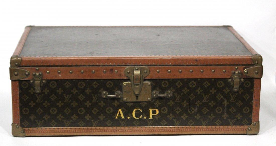 Louis Vuitton vintage hard luggage