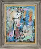 Monti Mid-century Modern abstract female figure
