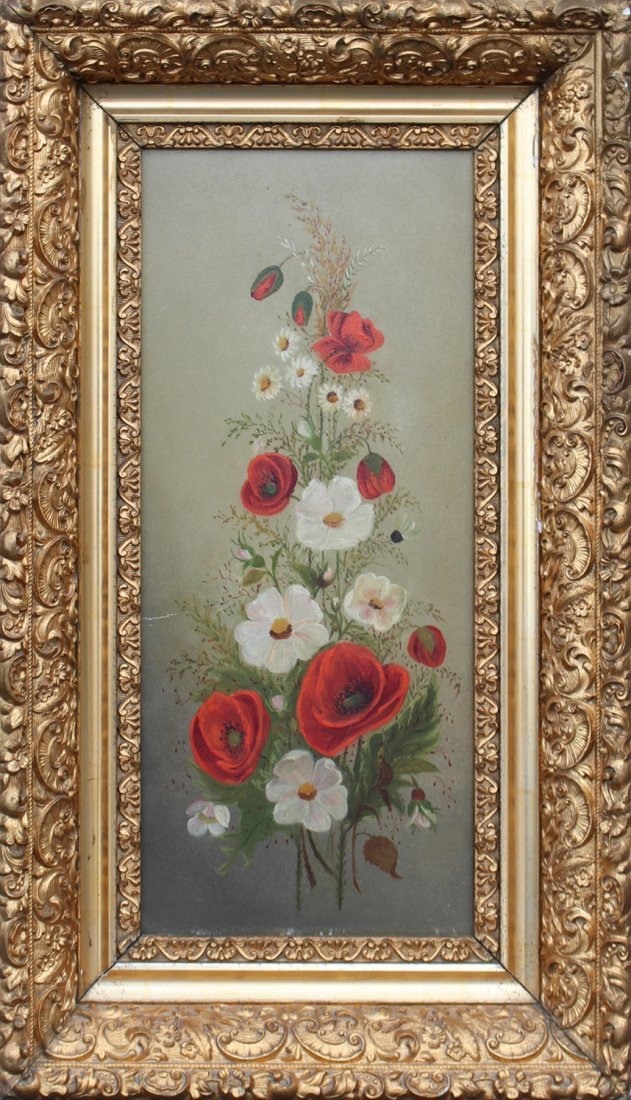 1880's Quality Still Life Oil Painting on Academy Board