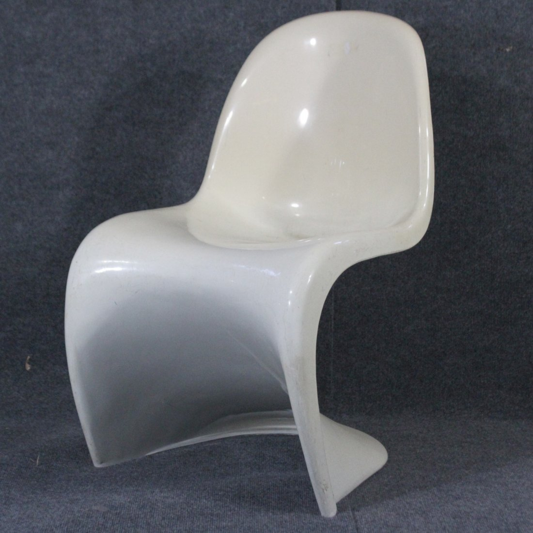 VERNER PANTON Molded Space Age Side Chair
