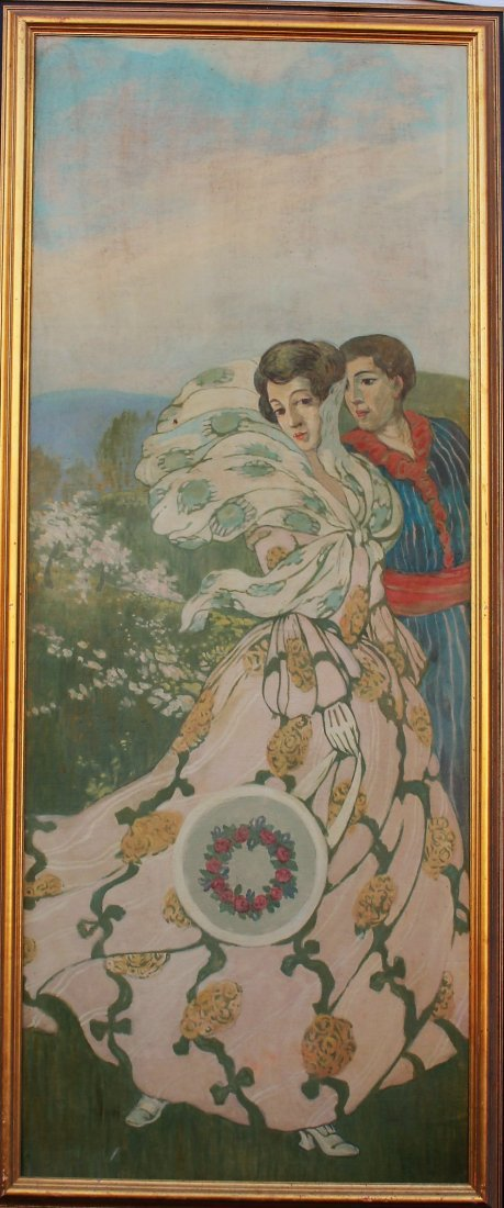 HOWARD CHANDLER CHRISTY Manner Of, COURTSHIP COUPLE