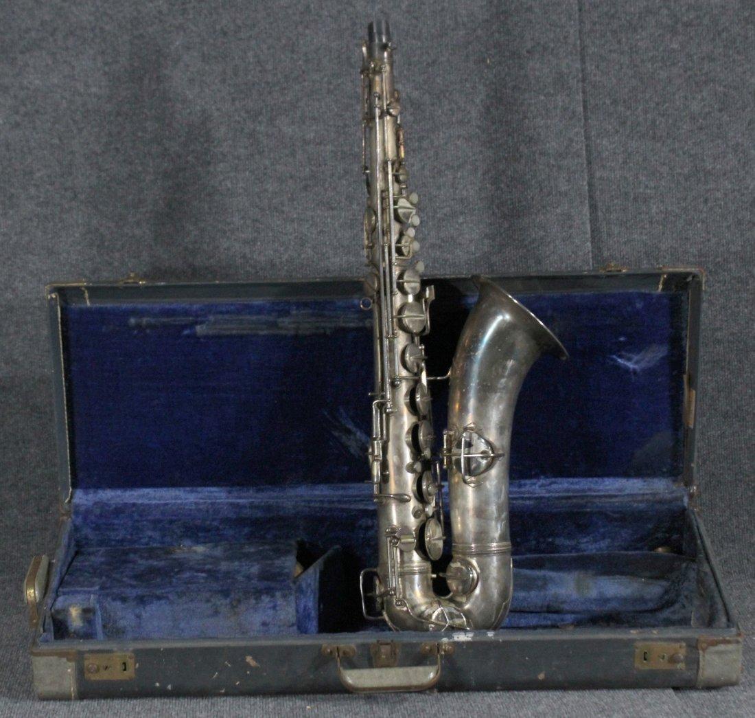 Elkhart 1914 Patent Pan American Alto Saxophone