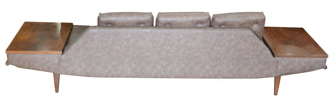 ADRIAN PEARSALL GONDOLA LONG SOFA WITH TABLE SIDES - 5