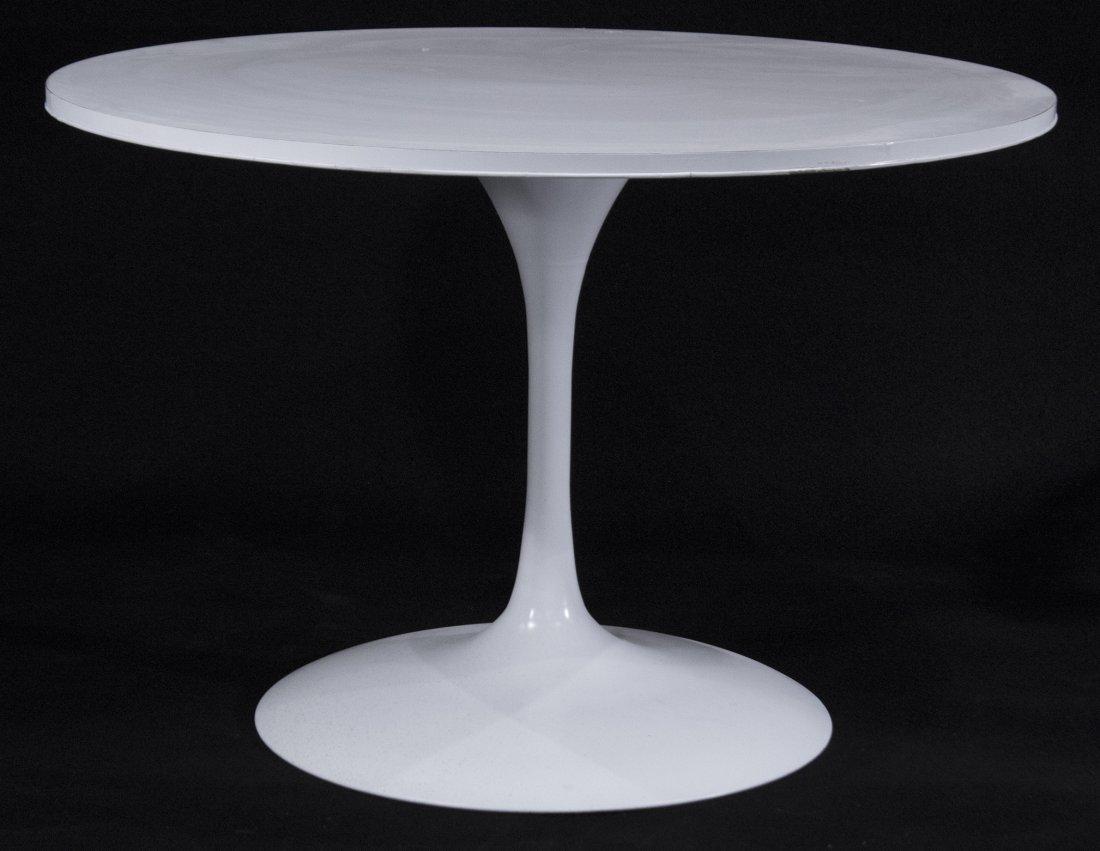 SAARINEN Style WHITE TULIP DINETTE TABLE 41.5 in. diam.