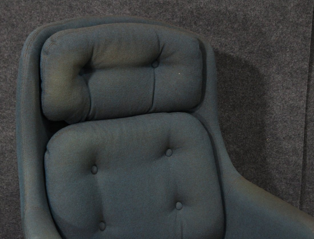 SELIG Mid Century Modern GROOVY SWIVEL LOUNGE CHAIR - 2