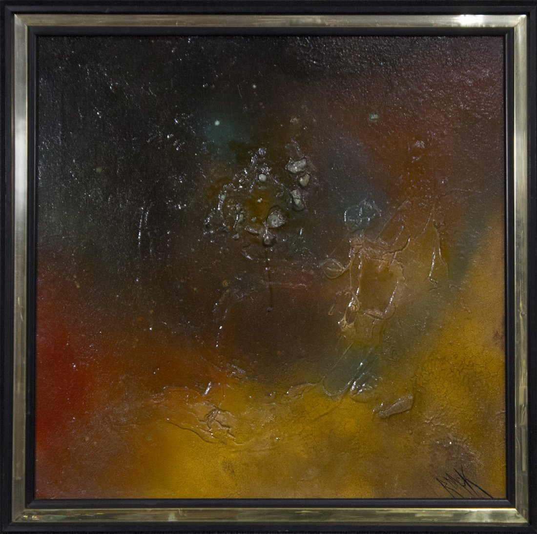 RUTH MCKEE 1929-2012, Pa Artist OIL/b ABSTRACT